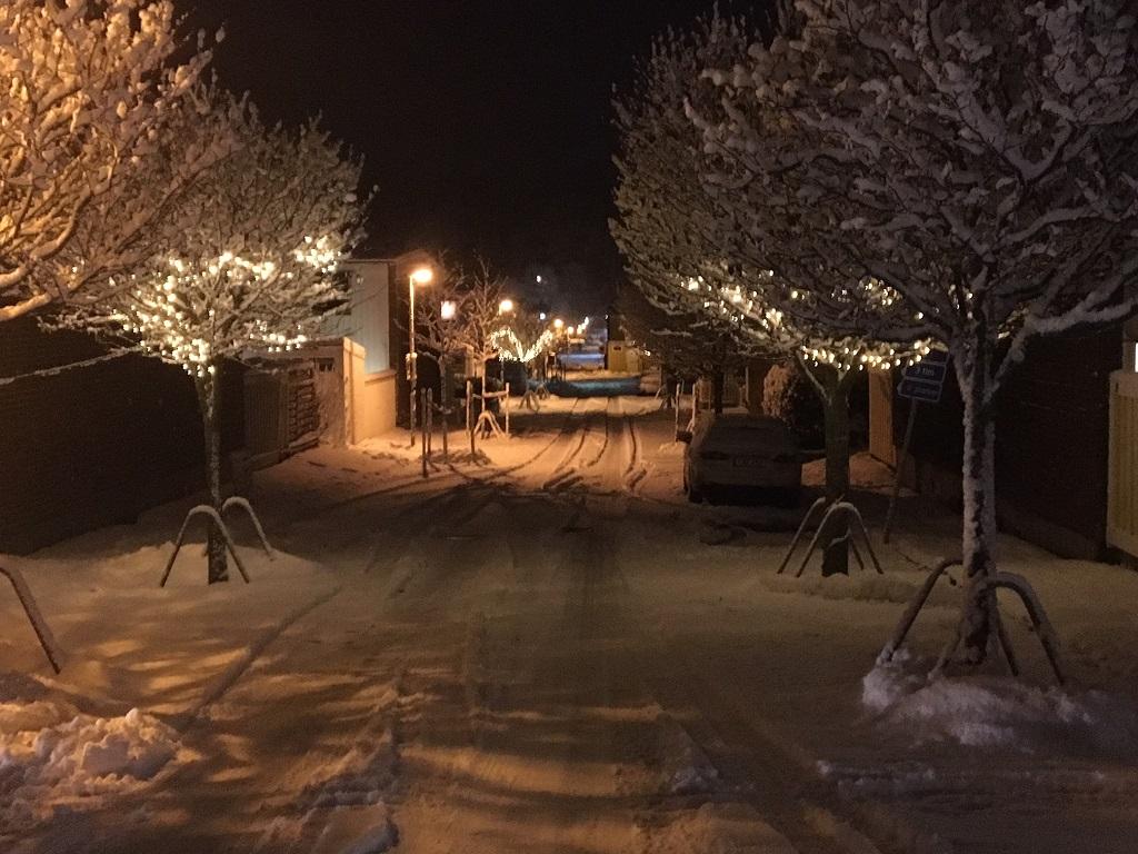 Ljus i vinternatten